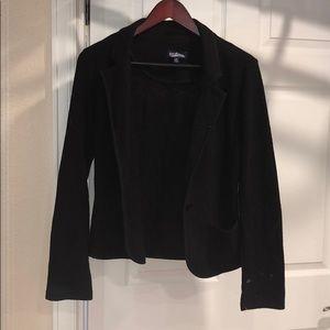 Cotton blazer, fits like small